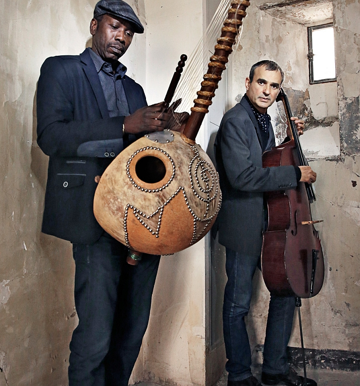 Ballaké Sissoko (left) and Vincent Segal