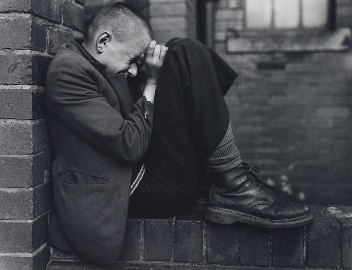 Chris Killip, Youth on a Wall, Jarrow, Tyneside; 1976