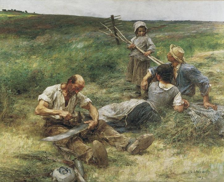 Léon-Augustin Lhermitte, Haymaking, 1887