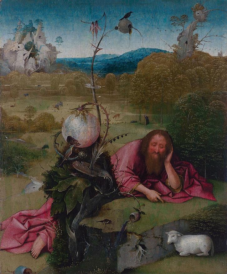 Hieronymus Bosch, Saint John the Baptist, c 1490-95
