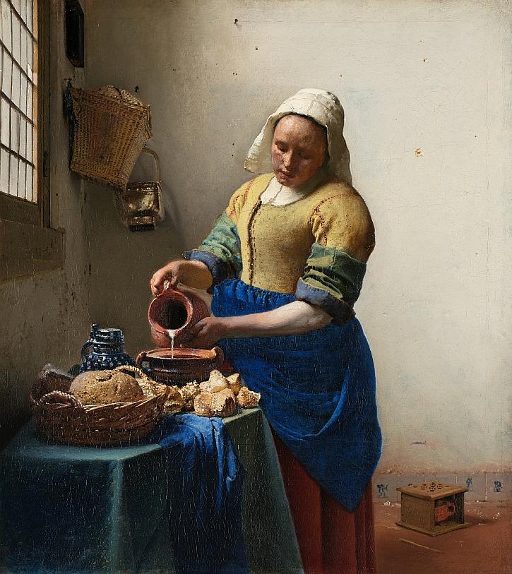 Johannes Vermeer, The Milkmaid,