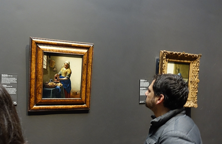 Looking at Vermeer