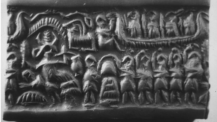 Looted Sumerian Seal