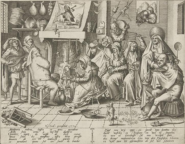 Pieter van der Heyden, After Jheronimus Bosch, Carnival. 1567