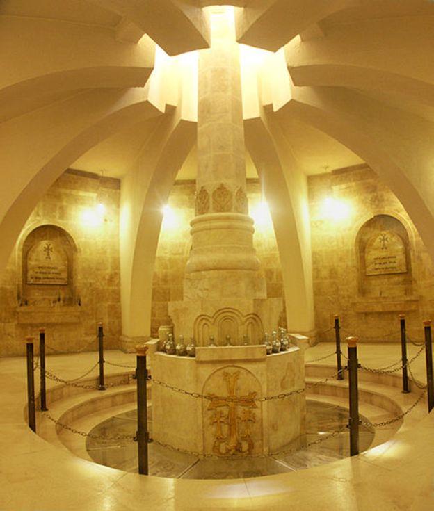 The Armenian church in Deir al-Zour