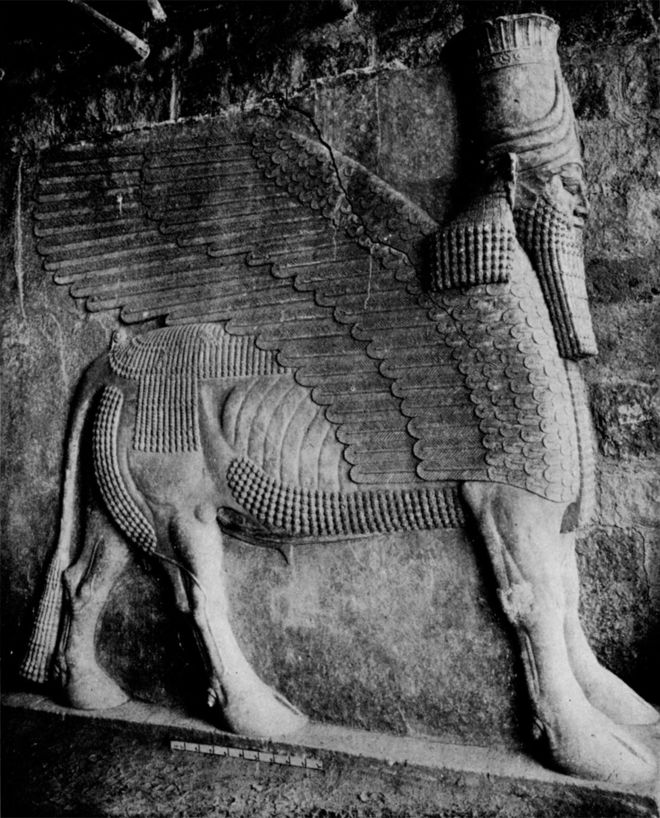 The Winged Bull of Nineveh