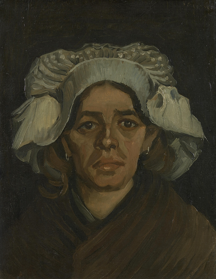 Van Gogh, Head of a Woman, 1885