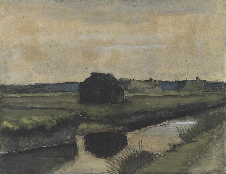 Van Gogh, Landscape with a Stack of Peat