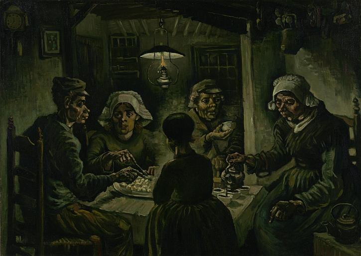 Van Gogh, The Potato Eaters, 1885