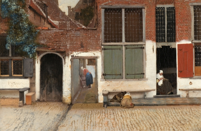 Vermeer's 'Little Street' Discovered!