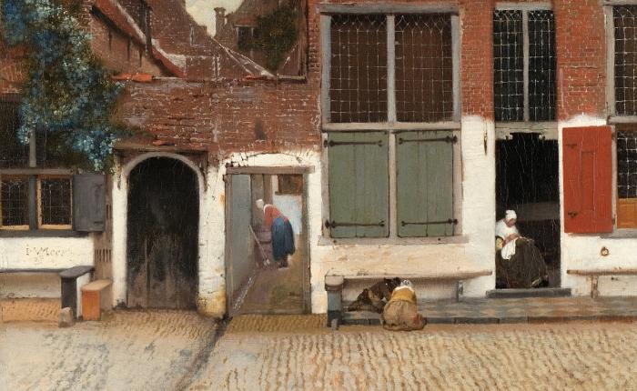 Vermeer's 'Little Street'Discovered!