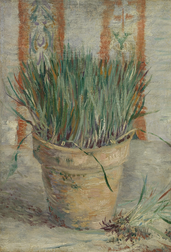 Vincent van Gogh, Flowerpot with Garlic Chives, 1887