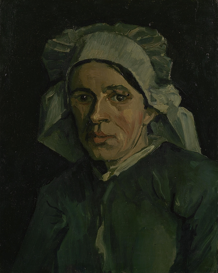 Vincent van Gogh, Head of a Woman, 1884-5