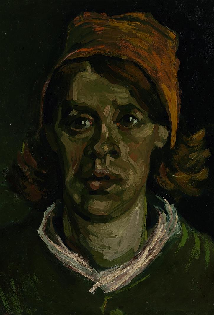Vincent van Gogh, Head of a Woman, 1885