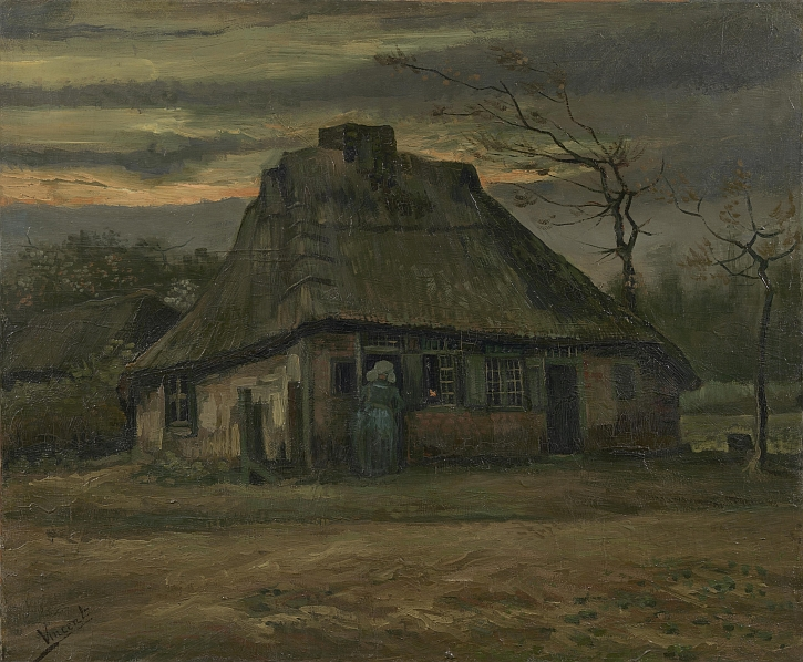 Vincent van Gogh, The Cottage, 1885