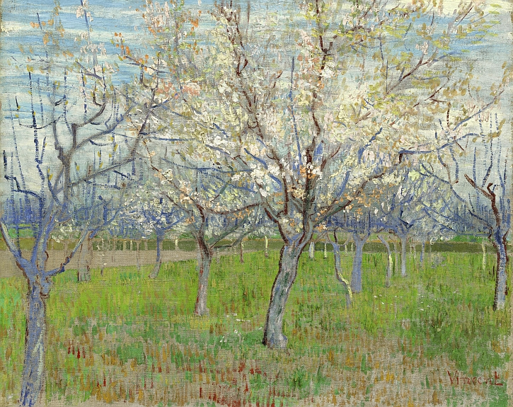 Vincent van Gogh, The Pink Orchard, 1888