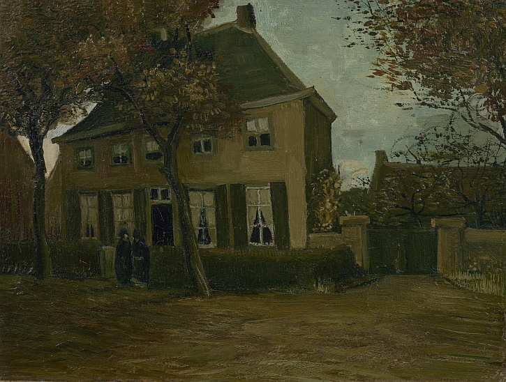 Vincent van Gogh, The Vicarage at Nuenen, 1885