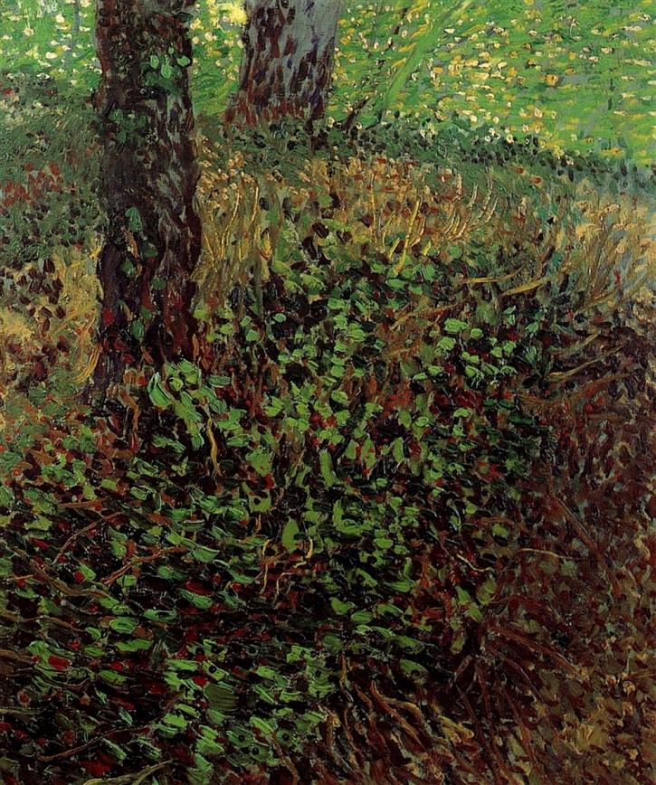 Vincent van Gogh, Undergrowth, 1887, Rijksmuseum