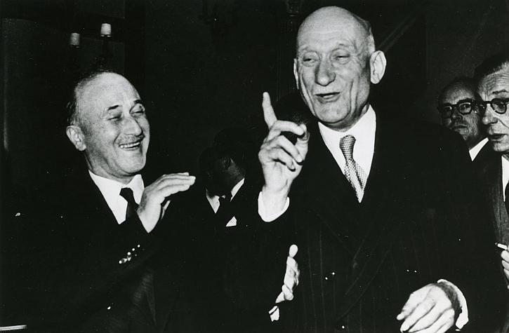 Founding fathers: Jean Monnet and Robert Schuman