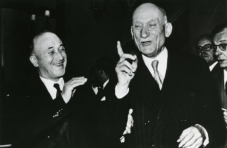 Founding fathers: Jean Monnet and Robert Schuman