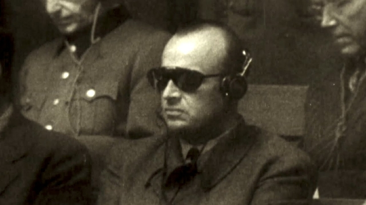 Hans Frank at Nuremberg