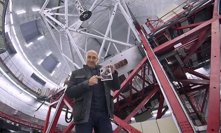 Jim, Edwin Hubble, and a big telescope