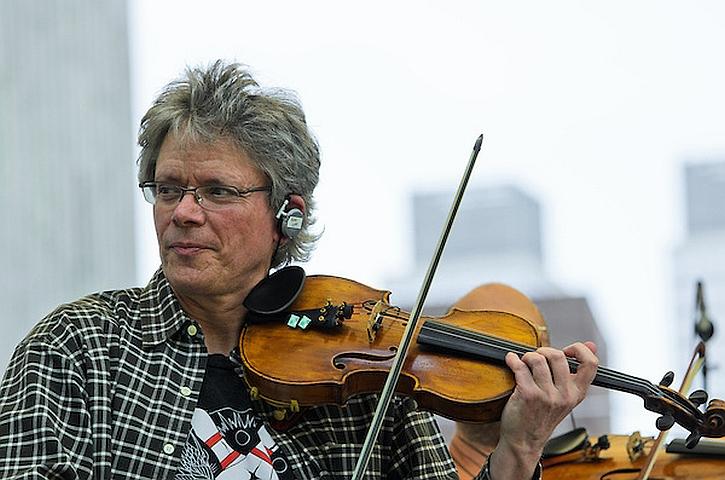 David Harrington, founder of the Kronos Quartet