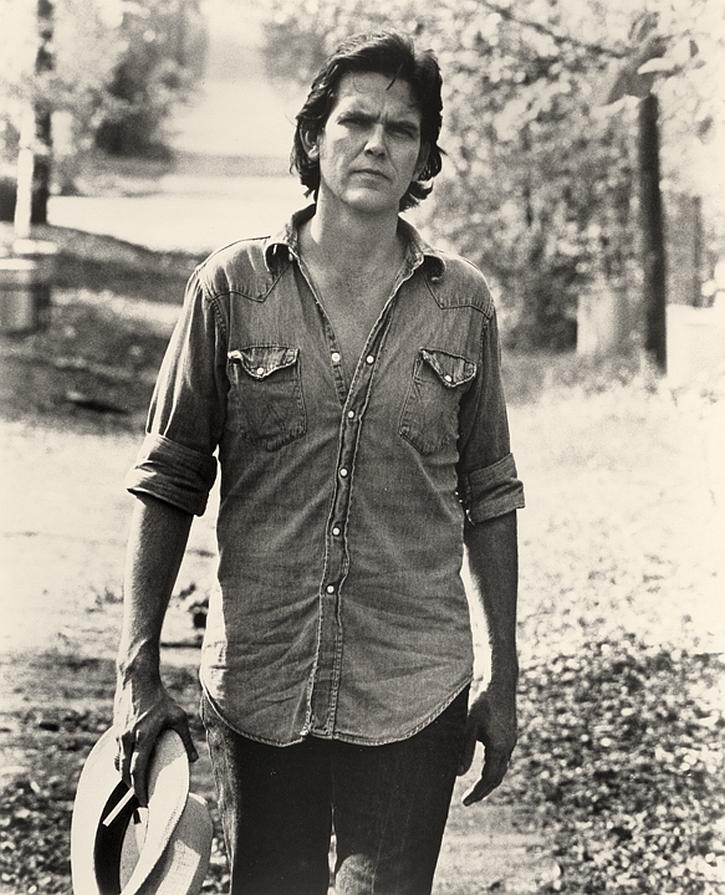 Guy Clark in the late 1970s