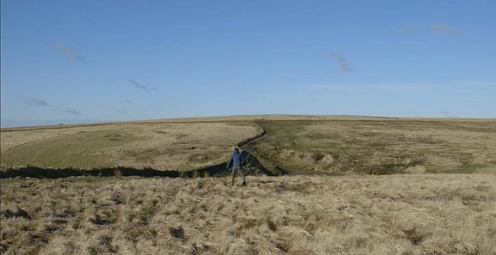 James Fox follows Richard Long's Ten Miles on Exmoor