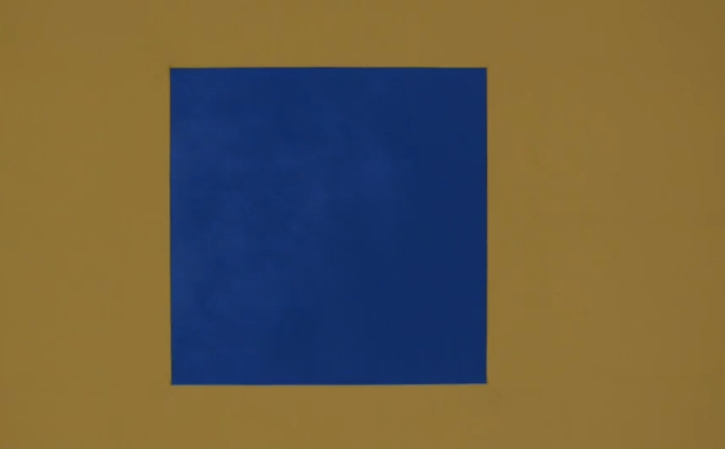 James Turrell's Skyspace at YSP at dusk