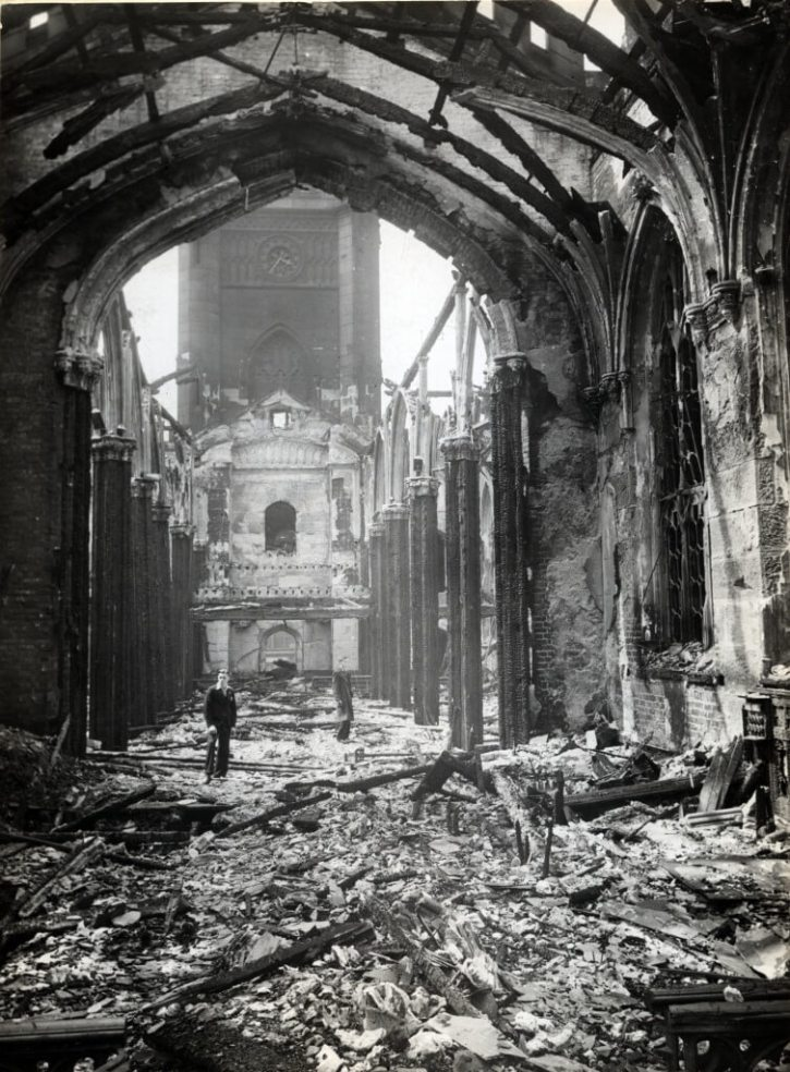St Lukes Church on 6 May 1941