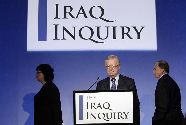 John Chilcot at the Iraq Inquiry