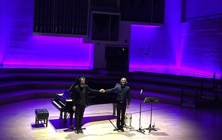 Markus Stockhausen and Florian Weber take a bow at RNCM