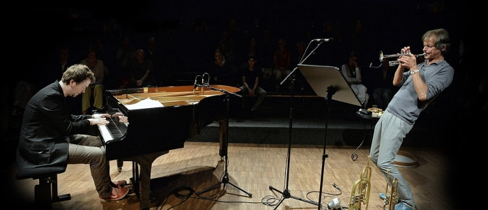 Markus Stockhausen and Florian Weber at RNCM: exhilarating, intuitive music