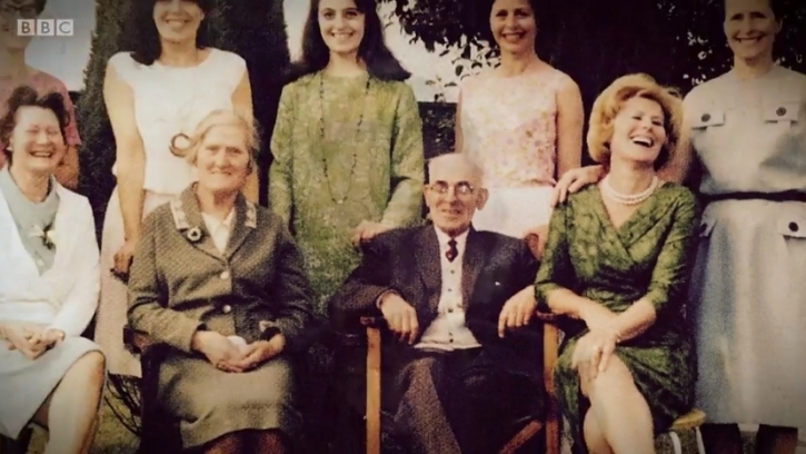 Grandad Gus and the seven sisters