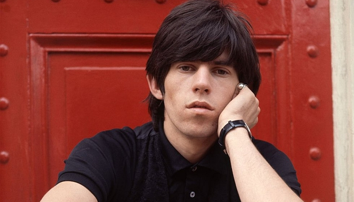 Keith Richards in the 1960s