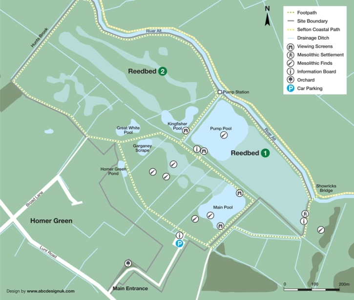 Lunt Meadows location map