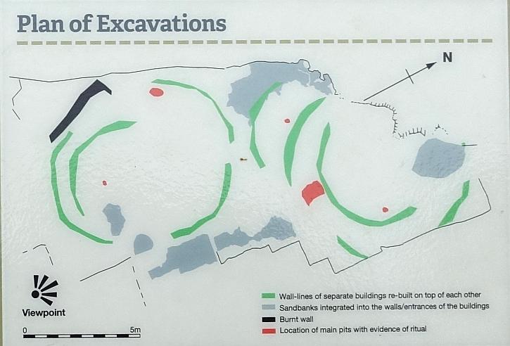 Lunt Meadows plan of excavations