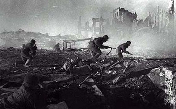 Stalingrad street fighting