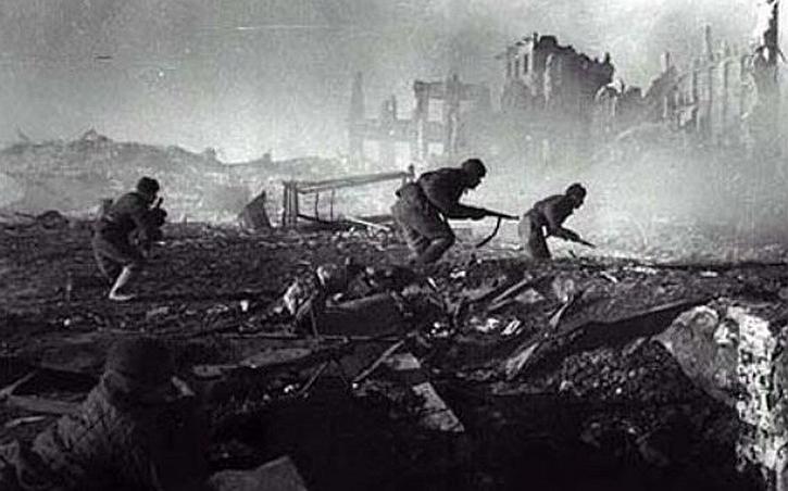 Stalingrad street fighting
