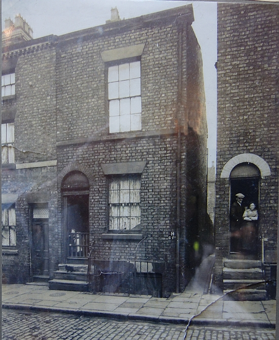 The house at 133 Upper Frederick Street photographed in the 19th century