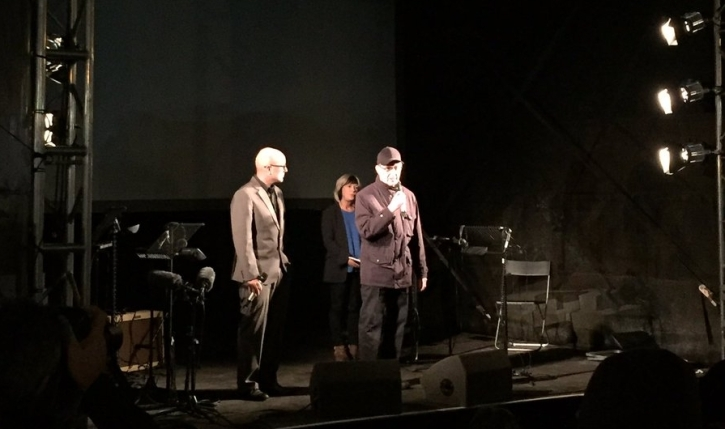 Bill Morrison, Jude Kelly and Steve Reich introduce Different Trains