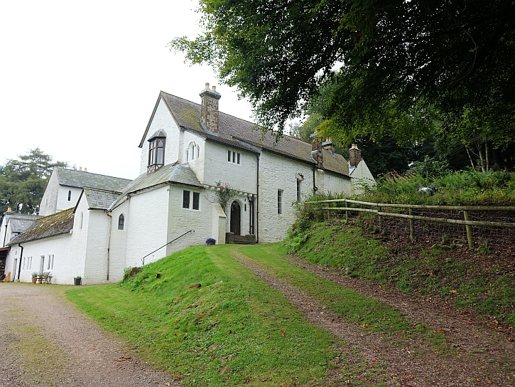The house at Capel-y-Ffin where David Jones lived for 4 years
