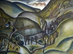 David Jones, Capel Landscape, 1925