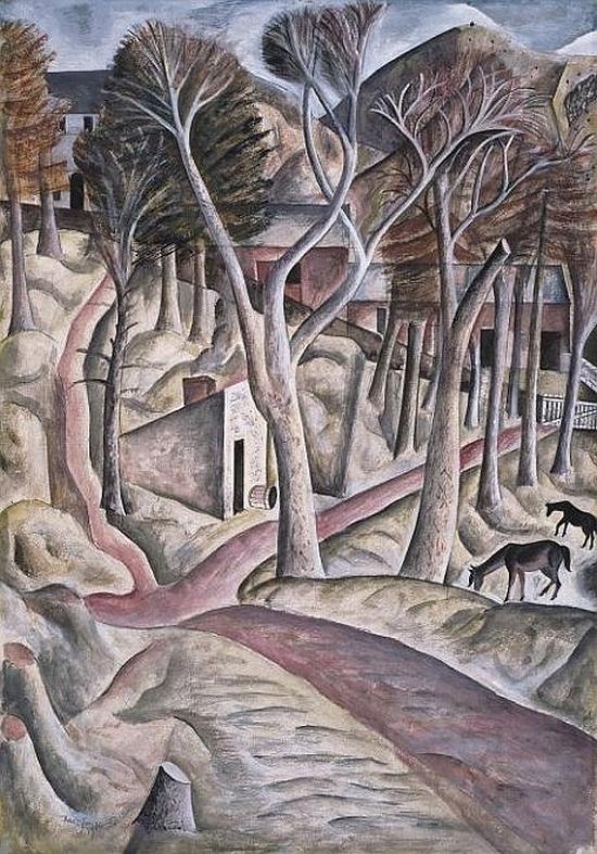 David Jones, Capel-y-ffin, 1927