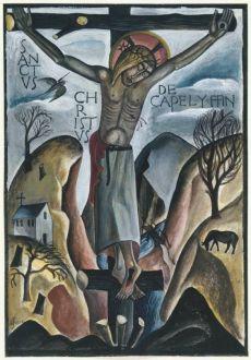 David Jones, Sanctus Christus de Capel-y-ffin,1925