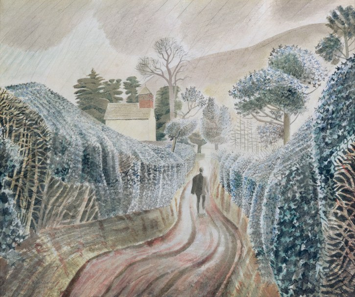Eric Ravilious, Wet Afternoon, 1938