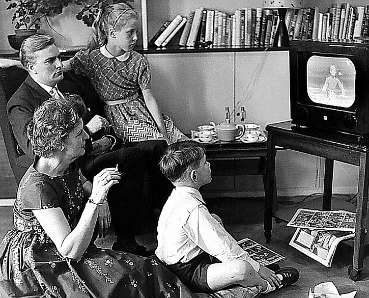 Family and TV: 1950s Britain