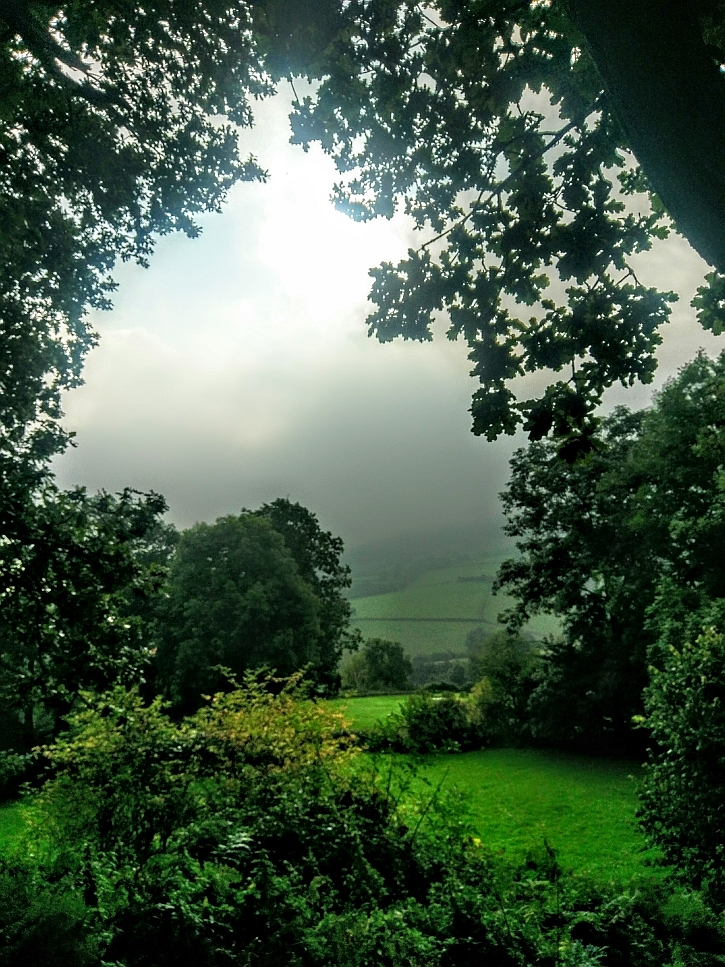 The view from Grosmont castle