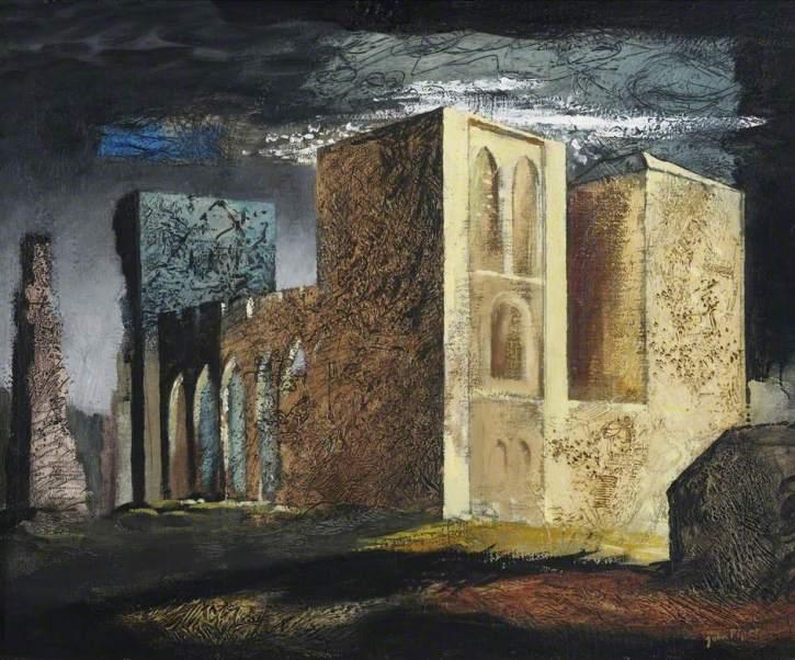 John Piper, Llanthony Abbey, 1941